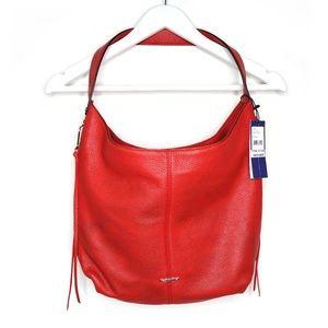 Rebecca Minkoff red Bryn hobo shoulder bag NWT